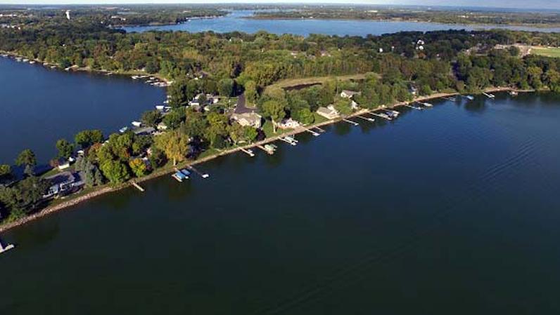 Big Green, Little Green & Chisago Lake