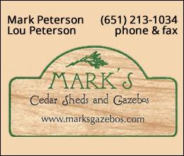 Mark's Cedar Sheds and Gazebos